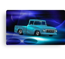 1957 Ford F100 Pick-Up Truck Canvas Print