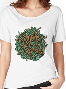 Smoke & Love  Women's Relaxed Fit T-Shirt