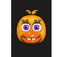 Adventure Chica - FNAF World - Pixel Art Photographic Print