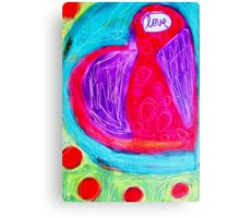 I Give You My Heart ♥ Canvas Print