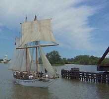 Pathfinder - Bay City (Michigan) Tall Ships - 2013 by Francis LaLonde