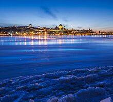 Blue Night by MIRCEA COSTINA
