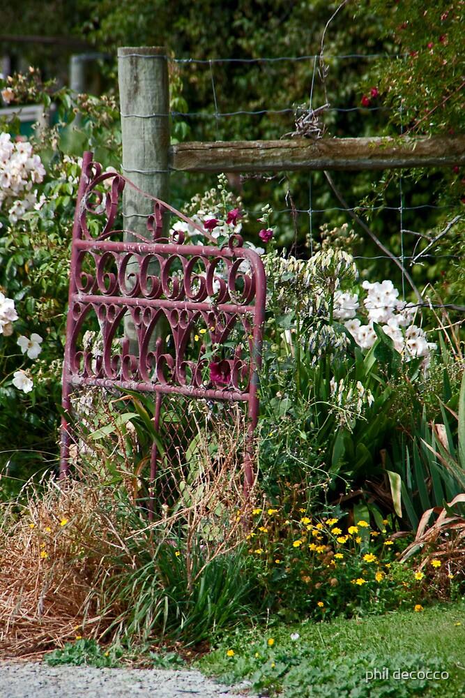 Garden Gate by phil decocco
