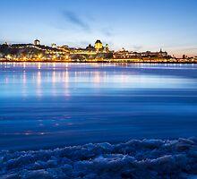 Quebec City in winter by MIRCEA COSTINA