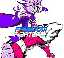Blaze the cat (Freedom Fighters) poster by TakeshiUSA