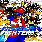 Freedom Fighters 2K3 Poster (2003) by TakeshiUSA