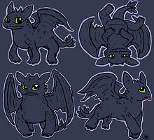 Toothless by MagenWorks