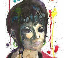 Nyota Uhura by Melody Hall-Fuller
