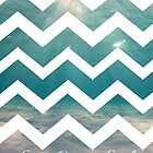 Summer Chevron by Brittany Houston