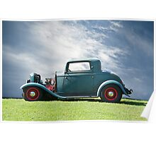 1932 Ford 'Classic American Hot Rod' Poster