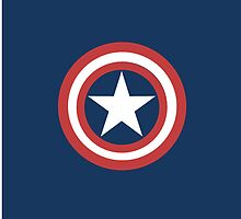 Captain America Shield by KateLaurenSmith