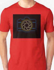 Glowing camera  Unisex T-Shirt