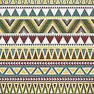 Aztec Intricate Pattern by Paulo Capdeville