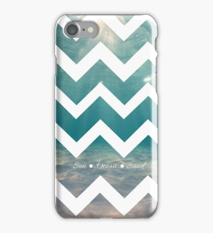 Summer Chevron iPhone Case/Skin
