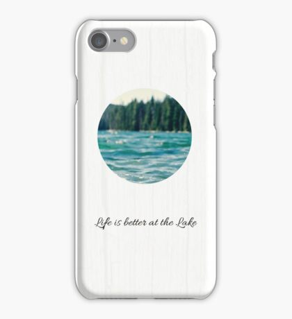 Life on the Lake  iPhone Case/Skin