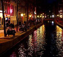 Red light district, Amsterdam by Sam Goodman