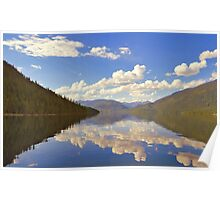 Lake Slocan, British Columbia Poster