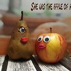 She was the apple of his eye by Caroline  Peacock