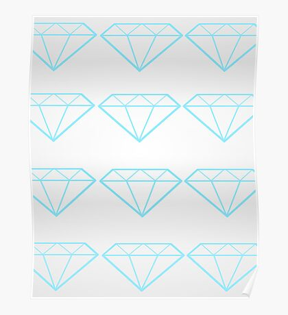 Diamonds are a Girl's Bestfriend Poster