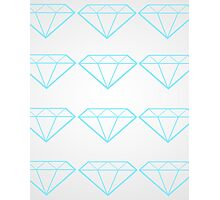 Diamonds are a Girl's Bestfriend Photographic Print