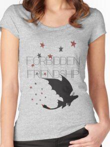 HTTYD- Forbidden Friendship Women's Fitted Scoop T-Shirt