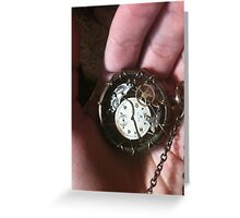 The Other Side of Time Greeting Card