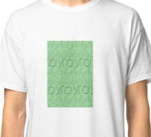 Eat your Veggies- Light Green/Dark Blue Classic T-Shirt