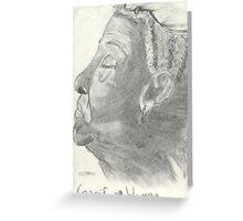 Garifuna Woman Greeting Card