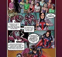 SheVibe Tristan Taormino Rise Of Reason Comic by shevibe