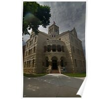 Comal County Courthouse Poster