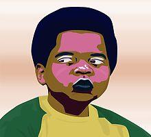 Arnold Jackson - Pop Art  by ibadishi