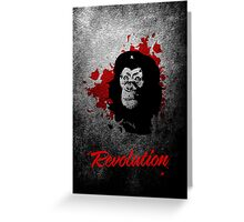 Revolution Greeting Card