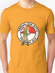 Vermilion City Pokemon Gym T-Shirt