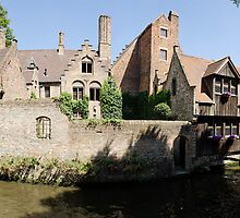 Lover's Bridge, Brugge by Mike Church