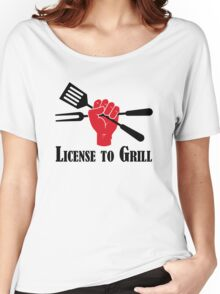 License to Grill Women's Relaxed Fit T-Shirt