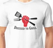 Dressed to Grill Unisex T-Shirt
