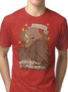 Be Calm Tri-blend T-Shirt