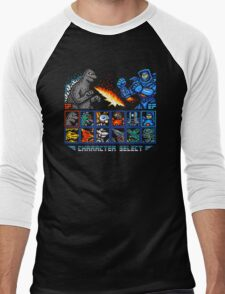 KAIJU FIGHTER Men's Baseball ¾ T-Shirt