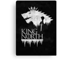 King of the North - white Canvas Print