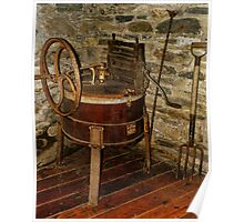 Gomez Mill House Outbuilding with Washing Machine Poster