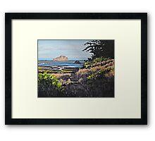 On the Coast Framed Print