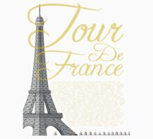 Tour De France Eiffel Tower Kids Clothes