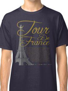Tour De France Eiffel Tower Classic T-Shirt
