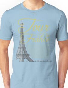 Tour De France Eiffel Tower T-Shirt