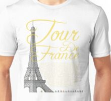 Tour De France Eiffel Tower Unisex T-Shirt