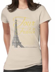 Tour De France Eiffel Tower T-Shirt
