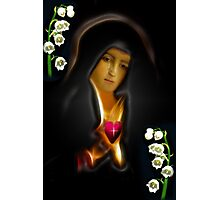 ✿♥‿♥✿MY VERSION ..TEARS OF THE VIRGIN MARY..PICTURE/CARD✿♥‿♥✿ Photographic Print