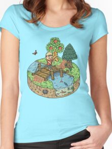New Leaf Women's Fitted Scoop T-Shirt