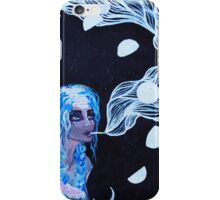 Original Acrylic Painting (It Must Be The Moon) iPhone Case/Skin