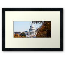 US Capitol Framed Print